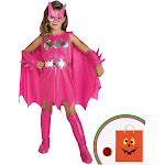 Pink Batgirl Child Costume - 11414 - Pink - X-Small (2-4)