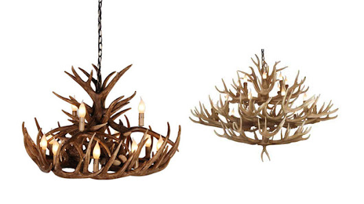 20 Gorgeous Brown Antler Chandeliers