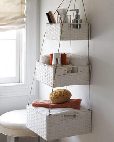 Creative Bathroom Storage Ideas | Shelterness