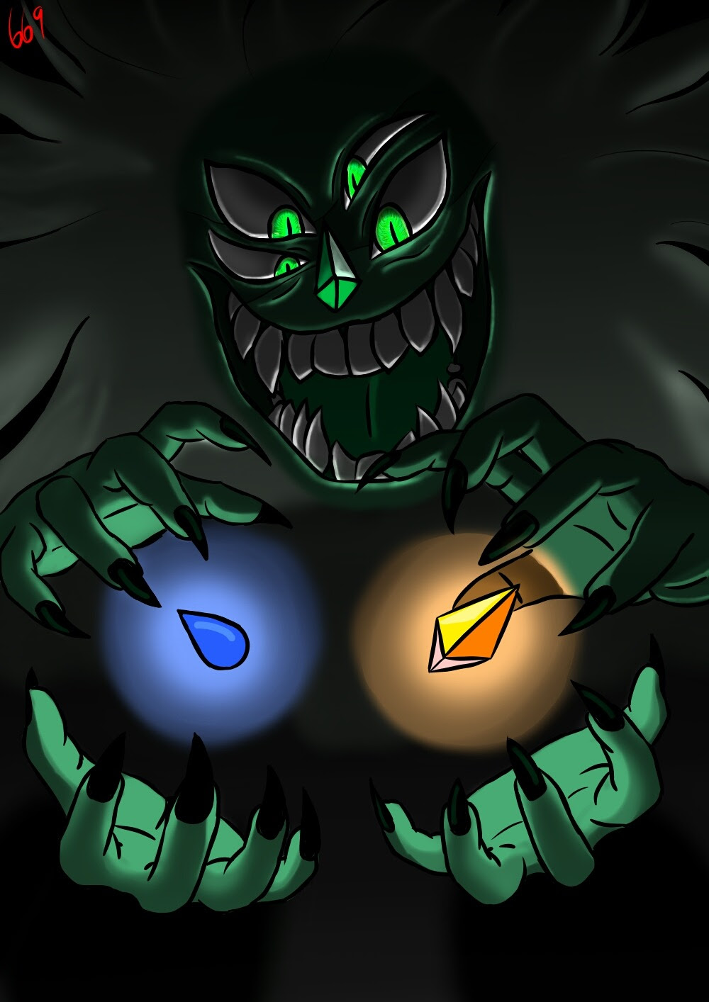 Malachite have a control this time!!!
