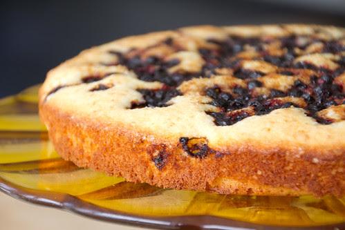 Blueberry coconut cake / Mustika-kookoshelbekook