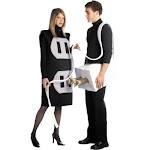 Rasta Imposta Costumes Plug and Socket Adult Costume, Black, Standard (One Size)
