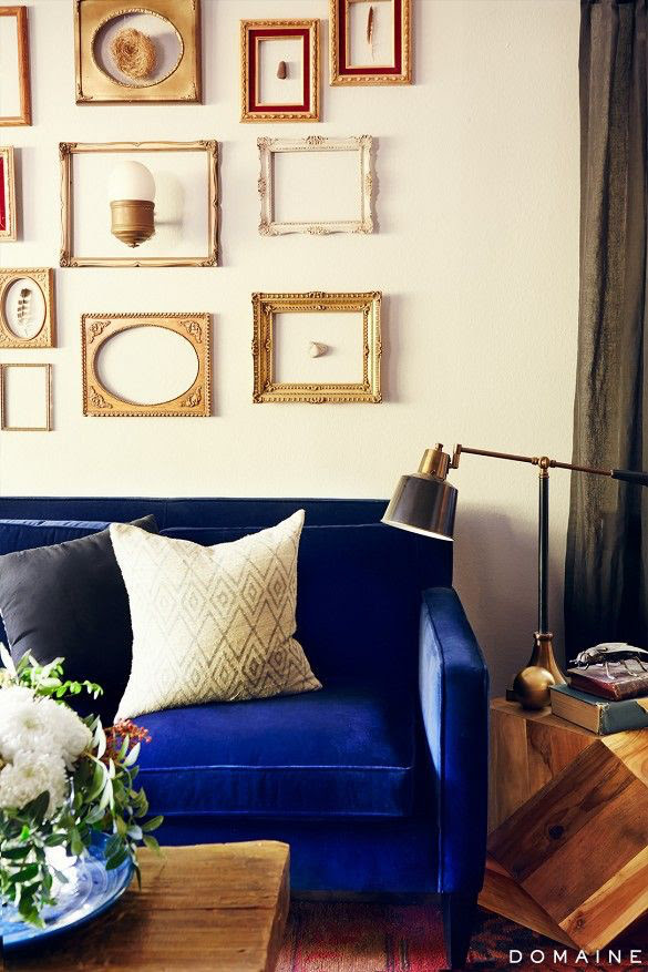 Royal Blue Couch Living Room Ideas Home Design Ideas