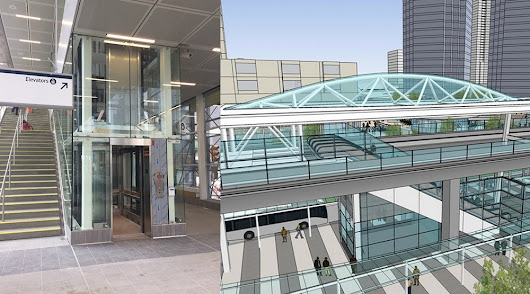 New permanent entrance into Metrotown Station opens today