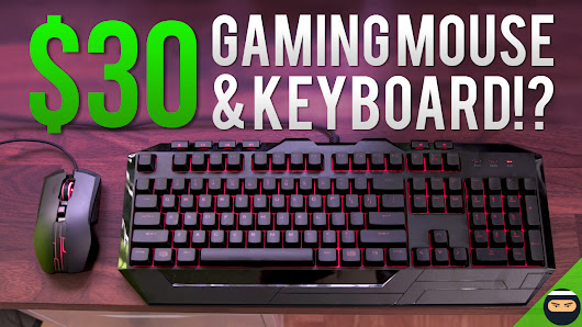 Giveaway: Gaming Mouse and Keyboard + $50 Steam Gift Card!