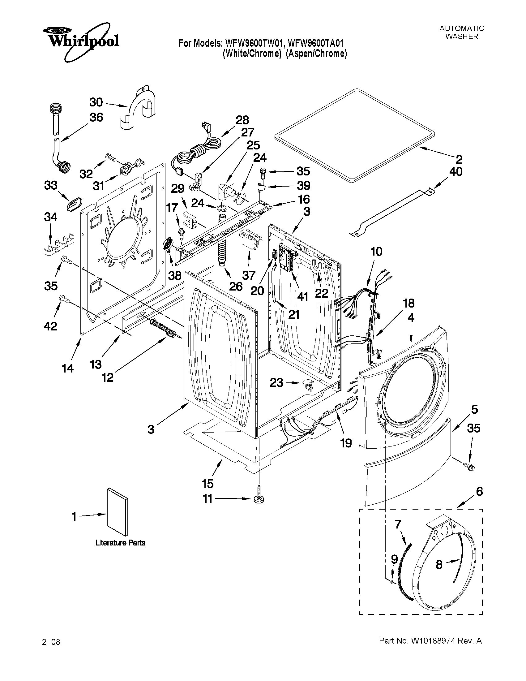 Wiring Diagram: 29 Whirlpool Duet Dryer Parts Diagram