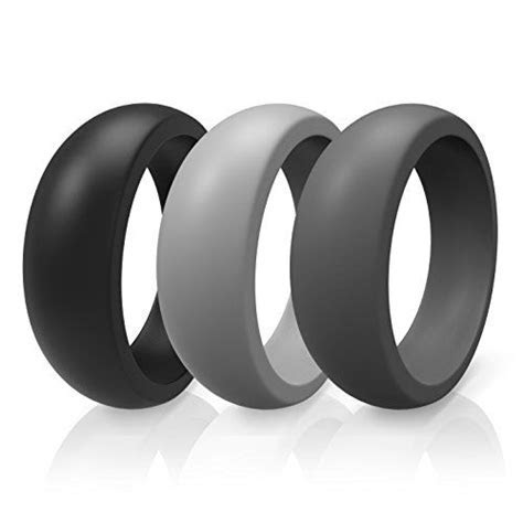 Silicone Wedding Band Ring (9) By ThunderFit #WeddingRing