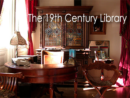 Victorian Kitchen Design on Victorian Library