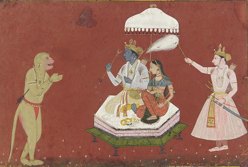 Hanuman_before_Rama