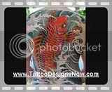 4th of July Fireworks 2008 · Koi Fish Tattoo