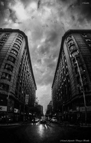 Santiago de Chile. San Antonio Vista al Norte by Alejandro Bonilla