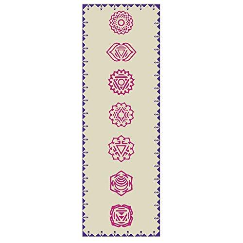 »Ravana« yoga mat / The perfect yoga and aerobics mat for yoga novices. Size: 183 x 61 x 0.4cm / Tribal Center