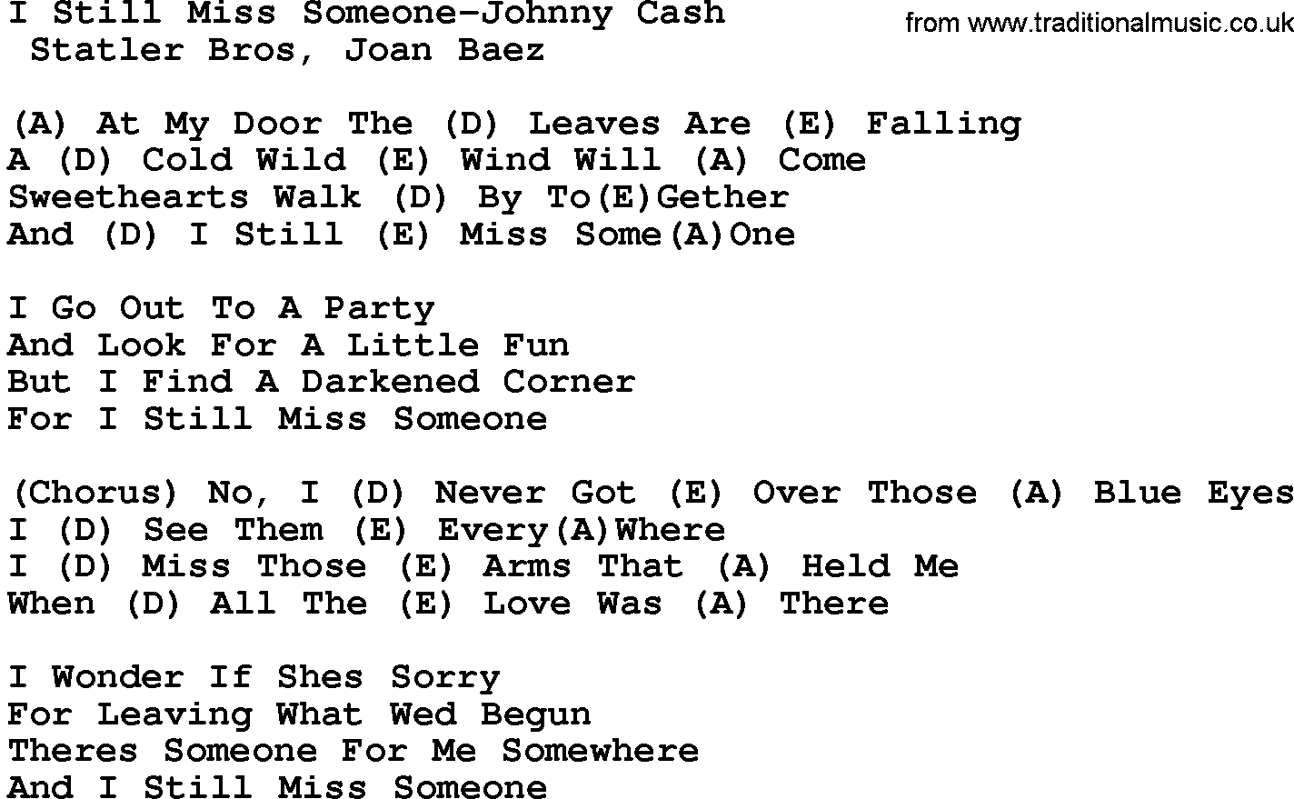 Summary List Of Country Songs About Missing Someone Ranker