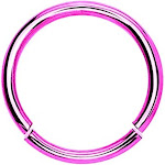 BodyJ4You 16 Gauge Pink Stainless Steel Segment Ring