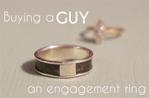 How We Figured Out Engagement Rings For Men   A Practical