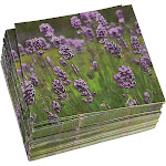 Juvale 100 Pack Decorative Dinner Napkins - Disposable Paper Party Napkins with Purple Lavender Flower Design, Perfect for Wedding and Shower Decorations, Bi