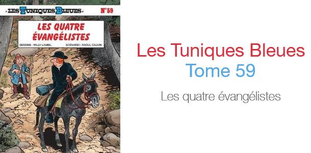 La nouvelle BD Les Tuniques Bleues