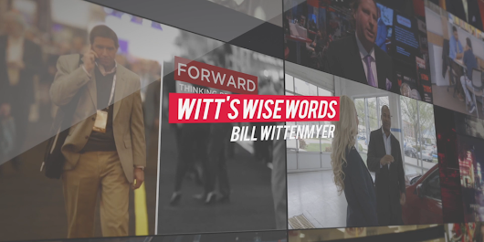 Witt's Wise Words: Do You Know It All? - Digital Dealer