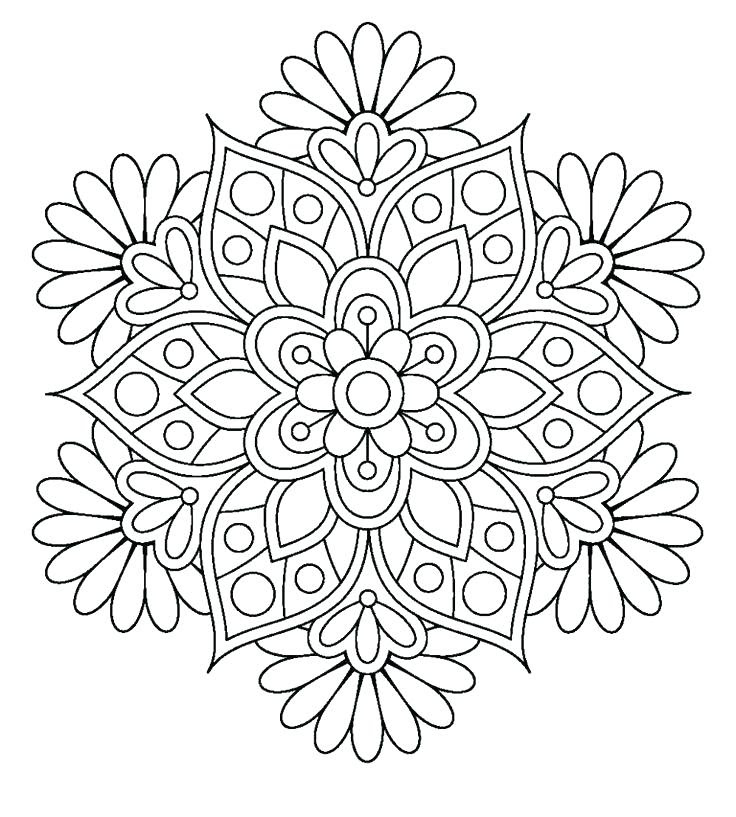 72 Coloring Pages Of Cute Flowers Images & Pictures In HD