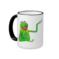 Kermit the Frog with his Mouth Open Disney Coffee Mug