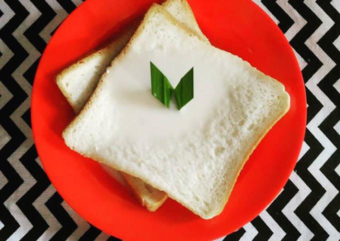 Cara Termudah Memasak Roti tawar kuah Praktis