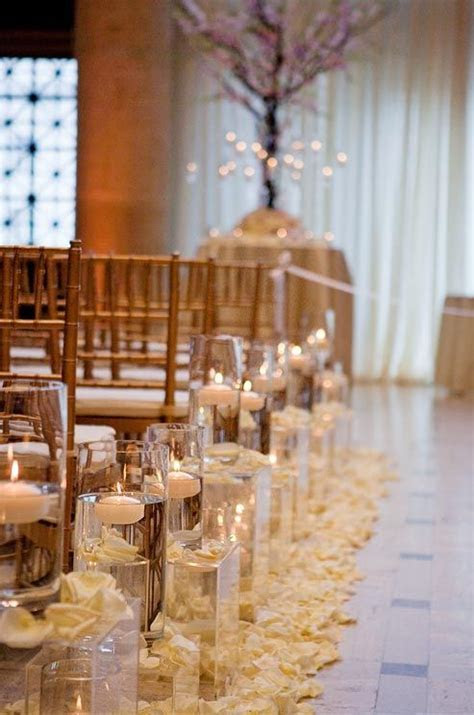 25  best Wedding aisle candles ideas on Pinterest