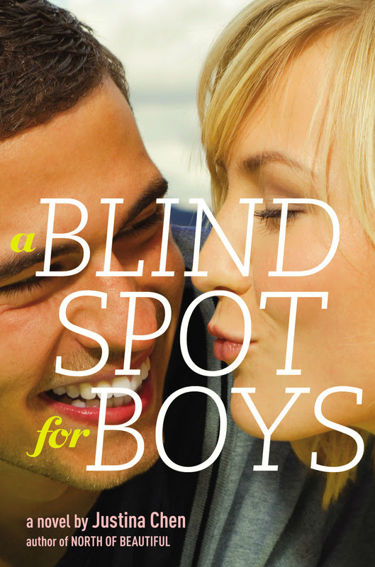 Release Blitz & Giveaway: A Blind Spot for Boys by Justina Chen