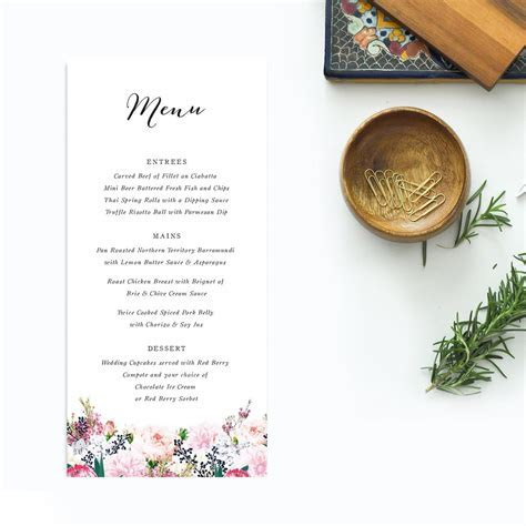 Native Floral Wedding Invitations Sail and Swan