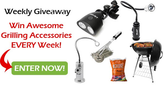 Get A Chance To Win Awesome BBQ Products Every Week!