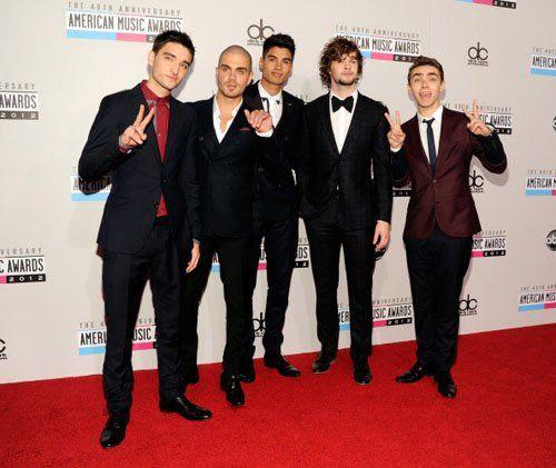 40th American Music Awards - November 18, 2012, The Wanted