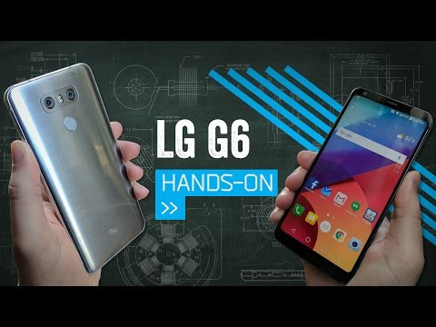 LG G6 Hands On: This Is More Like It - YouTube