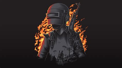pubg illustration  p resolution hd