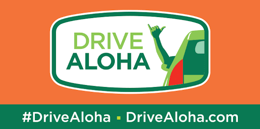 August is Drive Aloha Month!
