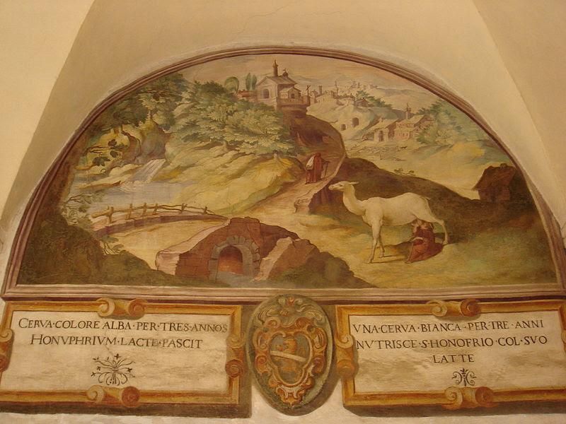 File:Trastevere - sant'Onofrio chiostro interno - affreschi del Cavalier d'Arpino 00663.JPG