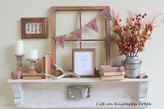 Budget Friendly Fall DIY Projects - Life on Kaydeross Creek