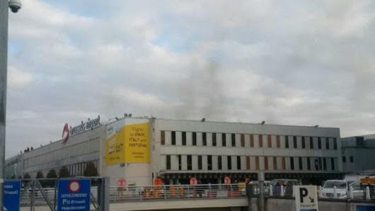 Up to 10 dead in Brussels airport blast: media