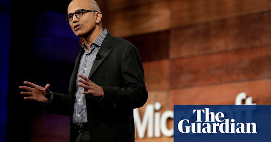 Microsoft earnings exceed $100bn on cloud services revenue | Technology | The Guardian