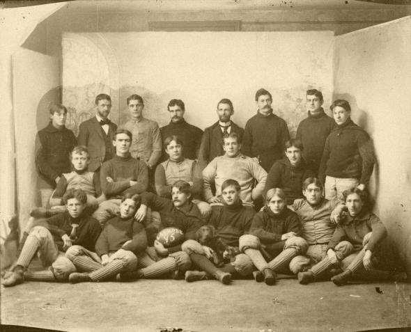 Equipe de Latrobe em 1895