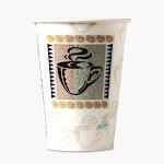 Dixie 5342CDPK Hot Cups Paper 12 oz. Coffee Dreams Design 50 Per Pack