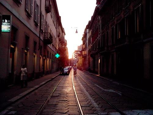Via del Orso al tramonto by Ylbert Durishti