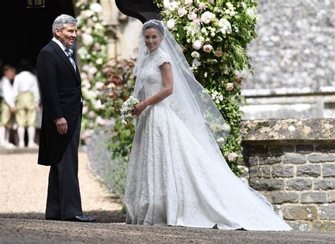 pippa middleton james matthews wedding dress romantic