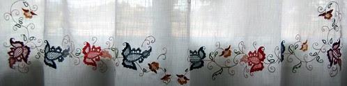 cortina punto mallorquín