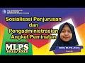 Sosialisasi Penjurusan dan Pengadministrasian Angket Peminatan oleh Salmi, M.Pd., Kons.