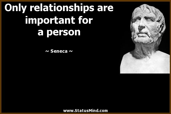 Only Relationships Are Important For A Person Statusmindcom