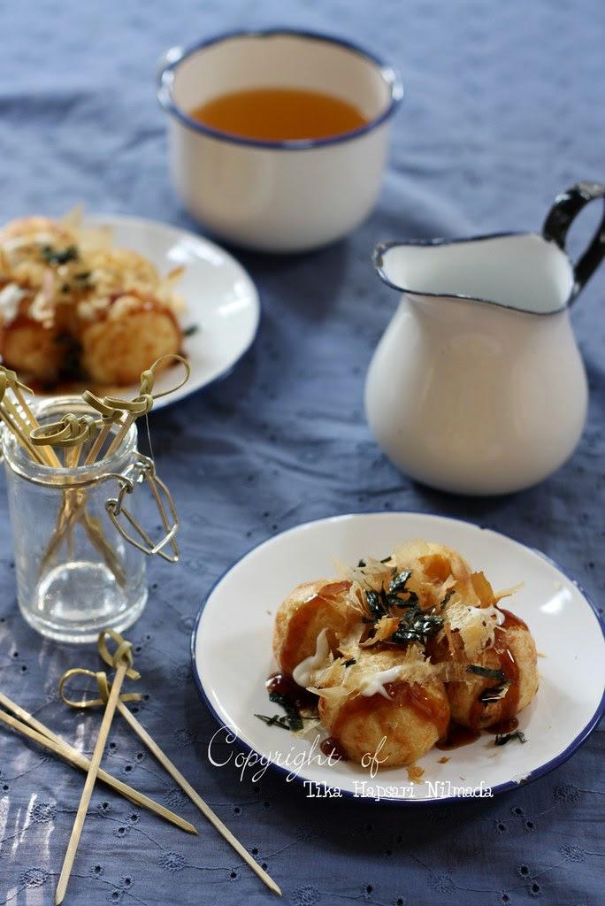 (Homemade) - Takoyaki balls
