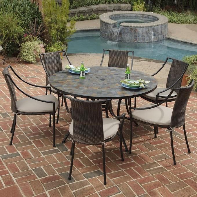 Get Round Patio Table Set Texas