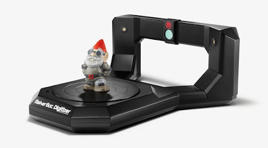 3D printing just got real: The MakerBot Digitizer is up for pre-order | ExtremeTech