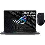 "ASUS ROG Zephyrus Gaming Laptop,165Hz 3ms WQHD 15.6"" Display,AMD Ryzen 9, GeForce RTX 3070 8GB GDDR6, 16GB RAM, 1TB SSD, USB-C, Backlit KB, WiFi"