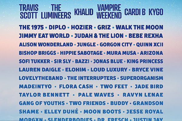 e197e18a7bc0 Hangout Fest 2019 lineup: Travis Scott, Vampire Weekend, Cardi B, The 1975,  more