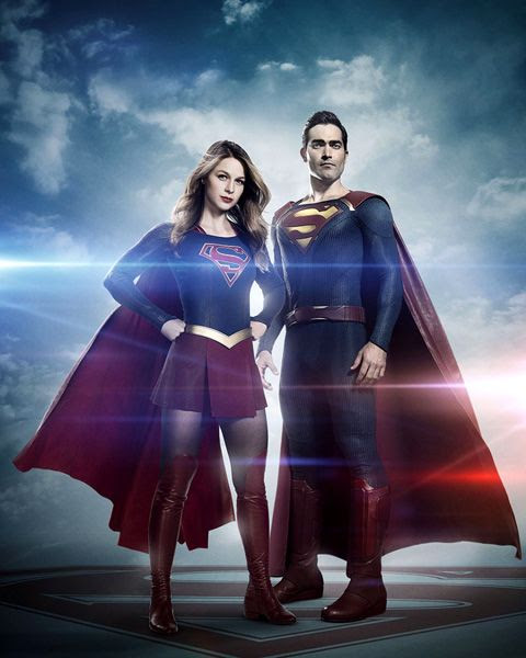 Melissa Benoist returns as Kara Danvers, while Tyler Hoechlin will join her as Superman in Season 2 of SUPERGIRL.